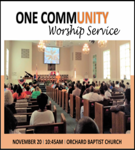 one-community-worship-service